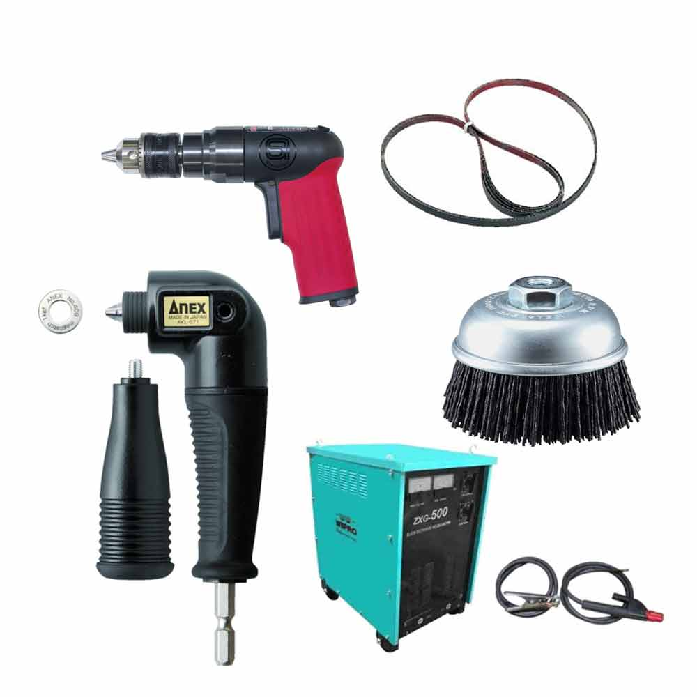 Electric, Hydraulic and Pneumatic Tools