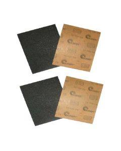"""Waterproof Abrasive Sand Paper 9"""" x 11""""-CC 320, 100 pcs/pkg"""