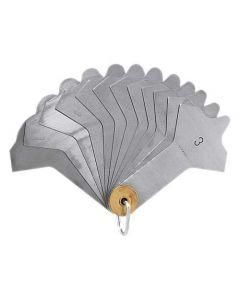 477700-Holex Weld seam gauge with 12 blades