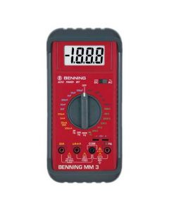 473300 MM3-Benning Multimeter With VDE Kitemark