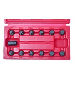 1117-13Pcs Oil Screws Socket Set