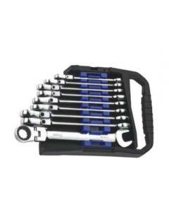 3447-Flexible Combination Gear Wrench Set (4 pcs)