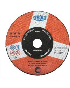 563050 50-Tyrolit Cut off Wheel, Ultra Thin Premium 50 mm