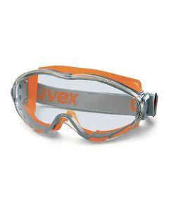 Safety Goggles, Ultrasonic  Orange/Grey, Hc-Af Clear