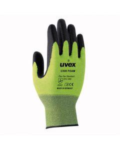 UVEX Mechanical Risks, Cut Protection C500 Foam, Cut Level 5 Size 8-6049408