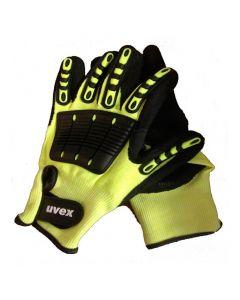 UVEX Mechanical Risks,Cut Protection, Impact 1, Cut Level 5 Size 8-6059808