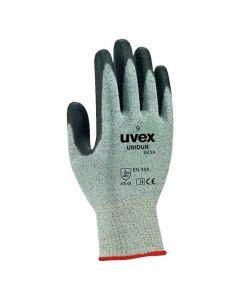 UVEX Mechanical Risks,Cut Protection, unidur 6659,  Size 8-6058808