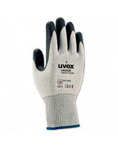 UVEX Mechanical Risks,Cut Protection, unidur 6659 foam nitrile,  Size 8-60093808