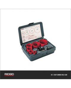Ridgid Hole Saw Plumber Kit, 1248-81490