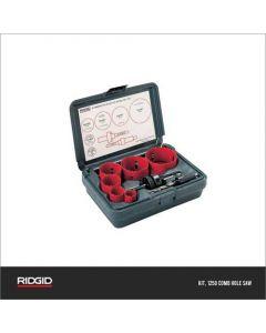 Ridgid Hole Saw Combination  Kit, 1250-81500