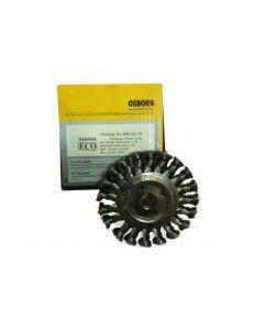 Wheel Brush Twist Knot Steel Wire 100 mm X 12X16 mm-0.35-T20-0002621131