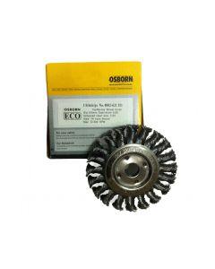 Wheel Brush Twist Knot Steel Wire 100 mm X 12X16 mm-0.50-T20-0002621151