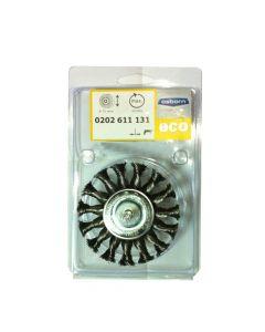 Wheel Brush Twist Knot Steel Wire With Shank 75 mm X 12 X 6 Shank-0.35-T18-0202611131