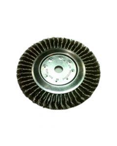Wheel Brush Twist Knot Stainless Steel Wire 150 mm X 13X22.2 mm-050-T37-0002641161