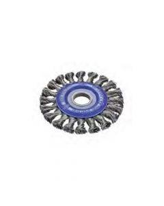Wheel Brush Twist Knot Stainless Steel Wire 250 mm X 15X25.4 mm-050-T42-0002676161
