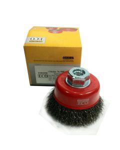 Osborn Cup Brush Crimped Steel Wire 3'(75) M14x2.0 -0.3-T23-ECO- 0008613162