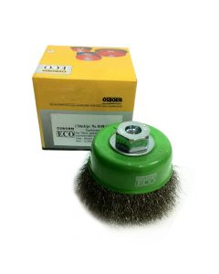 Osborn Cup Brush Crimped Stainless Steel Wire 3'(75) M10x1.5  -0.3- ECO- 0108613362