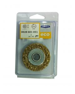 Wheel Brush Crimped Brass Coated Steel Wire 50 mm X 7X9.5 mm-03-T12-0028601051