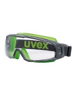 Safety Goggles U-Sonic Hc/Af Clear Grey/Lime