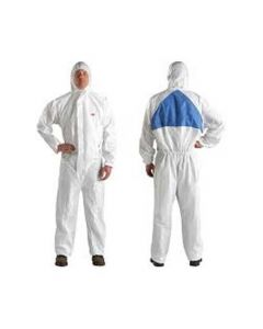 3M 4540  Coverall White Blue Type5/6 Size L (Pack. 20/1/20)-7000010367