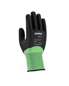 UVEX Mechanical Risks, Cut Protection, C600 XG, Size 9 Steel Fiber Level 5 Wet Work Glove -6060109
