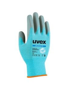 UVEX Mechanical Risks, Cut Protection, Phynomic C3, Size 8 Food Contact Safe Glove -6008008