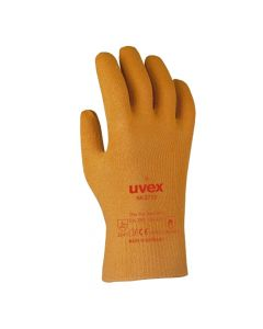 UVEX Mechanical Risks,Heat Protection Gloves Nk4022, Size 9 Oil & Grease Resistant? -6020203