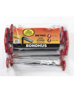 Ball End & Hex Graduated Length T-Handles-ProGuard Set 8, 2-10mm BTX80M-13187