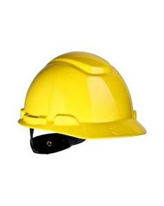 H-702R 4-Point Rachet Suspension Hard Hat (Yellow) (Pack. 1/20/20)-7000002415
