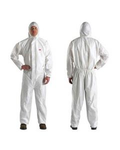 4510 Safety Coverall White Type 5/6Size Xl (Pack. 20/1/20)-7000010364