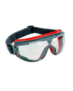 3M GG501SGAF Goggle Gear Safety Goggles Scotchgard Anti Fog Lens (Pack. 1/10/10)-7100079187