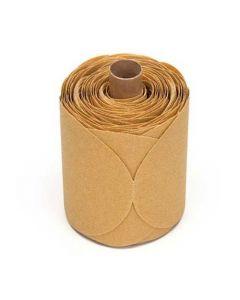 Stikit Gold Paper Disc Roll 216U, 5 In X Nh P100 A-125 Discs Per Roll-7000028125