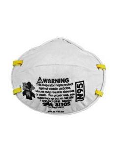 8110S N95 Respirator (Pack. 8/20/160) 20pcs/box-7000008813