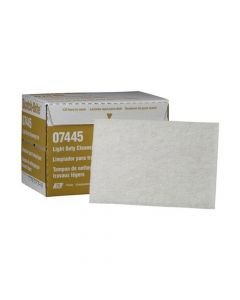 Scotch-Brite Light Cleansing Hand Pad 7445, 6 In X 9 In, (Pack. 3/20/60)-7000000727