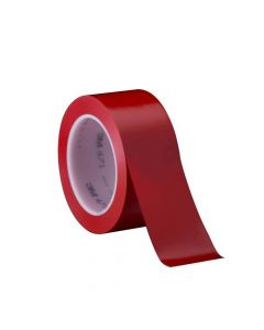 471 Vfb Vinyl Tape Floor Marking Red 48 3/4 In X 36 Yd Plas Core