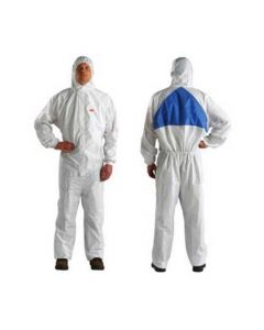 4540 Coverall White Blue Type 5/6 Size XL (Pack. 20/1/20)-7000010368