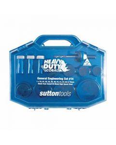 Sutton Colbalt Heavy Duty Holesaw Kit Electrician Set H105S9