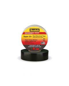 3M Electrical Tape-Vinyl Plastic   19 mm x 20 mm Scotch 33