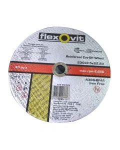Cut off wheel Iron Free Inox 230 x 2.5 x 22.2 FH38 A36S-BF41 I/F-TH-66252844067