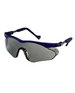 UVEX Safety Glasses, Skyper SX2 Grey Lens Blue Frame, Supravision Sapphire-9197266