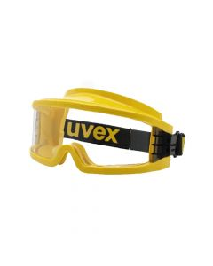 UVEX Safety Goggles Ultravision Gas Tight Goggle Yellow Frame, Supravision Excellence-9301613