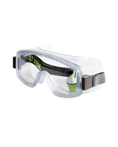 UVEX Safety Goggles 9405 Goggle Clear Lens, AF-9405714