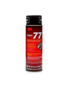 3M Super 77 Multipurpose Adhesive Aerosol isi: Net Wt 16 3/4 oz (Pack.12)-7000000931