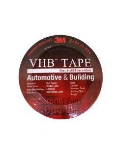 45F VHB Double Tape Automotive size 24mm x 4.5m (Pack.50)-7100007791