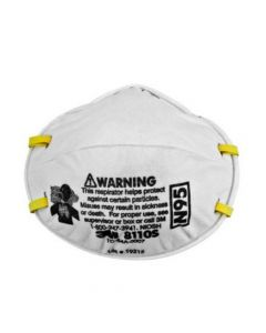 3M 8110S N95 Respirator (Pack. 8/20/160) 20pcs/box-7000008813