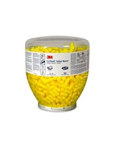 3M 391-1004 Earsoft Yellow Neons One-Touch (Pack. 4/500/2000) 500pcs/box-7000002305