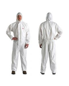 3M 4510 Coverall White Type5/6 Size M (Pack. 20/1/20)-7100000626