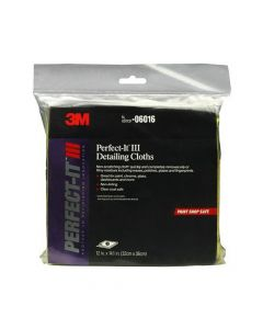 3M 6016 Microfiber Detailing Cloth, 6 Clothes/Pack-7100044351