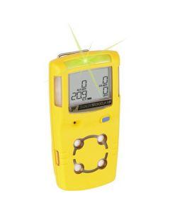 BW MicroClip X3, 4-Gas standard Detector, Yellow-MCX3-XWHM-Y-NA