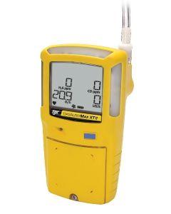 BW Max XT II 4-Gas Detector. 4-Gas standard Detector, Yellow - XT-XWHM-Y-NA